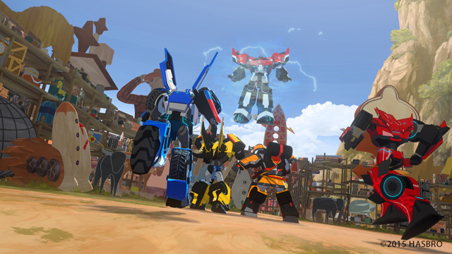 Autobots roll out in Transformers: Robots in Disguise Season 2. (Coming Soon)
