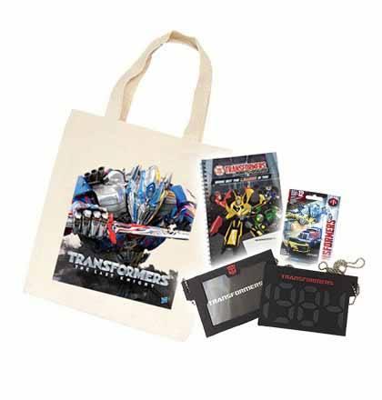 Transformers merchandise (Hasbro Singapore)