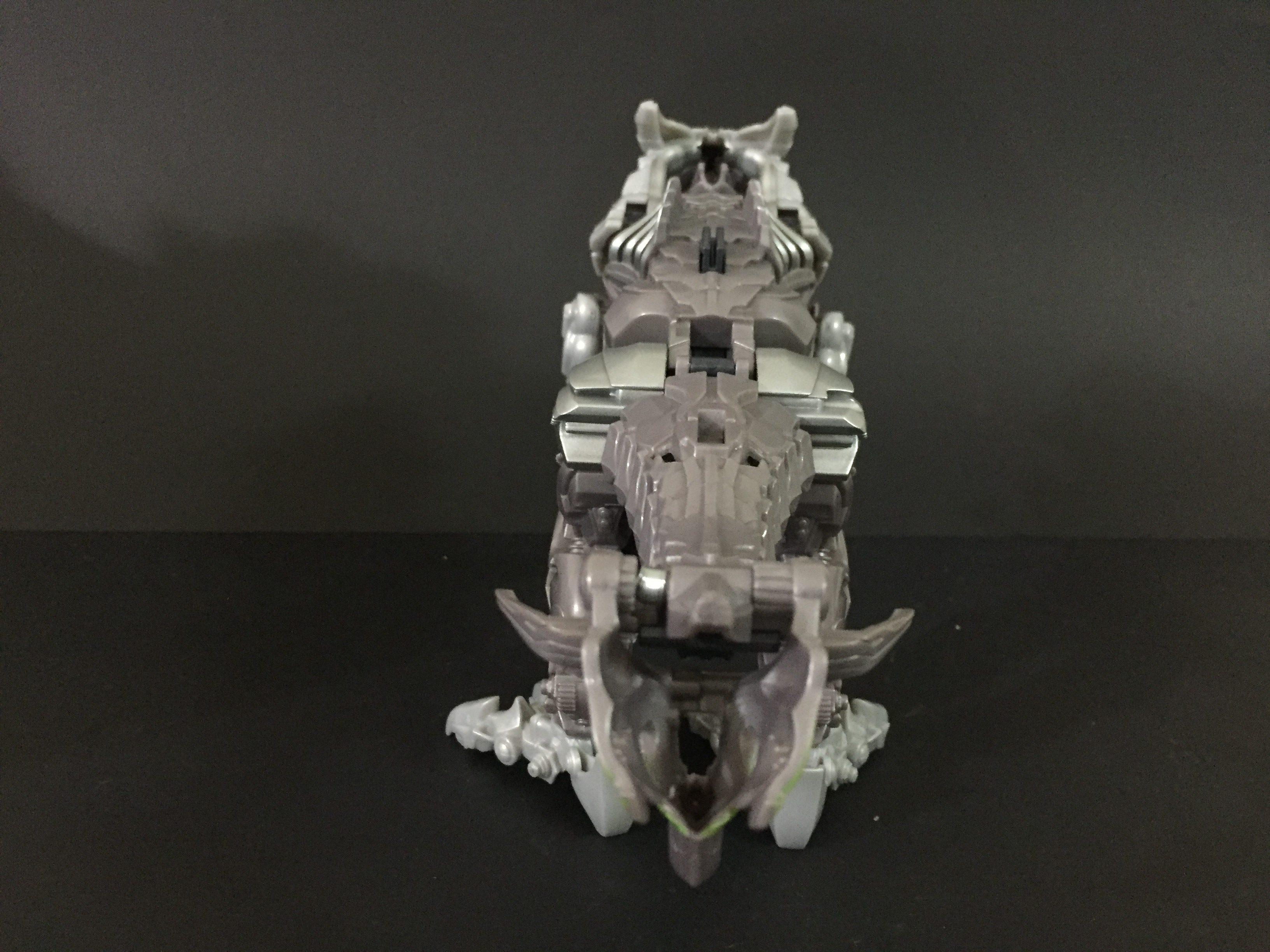 Knight Armor Grimlock. (3-Step Turbo Changer)