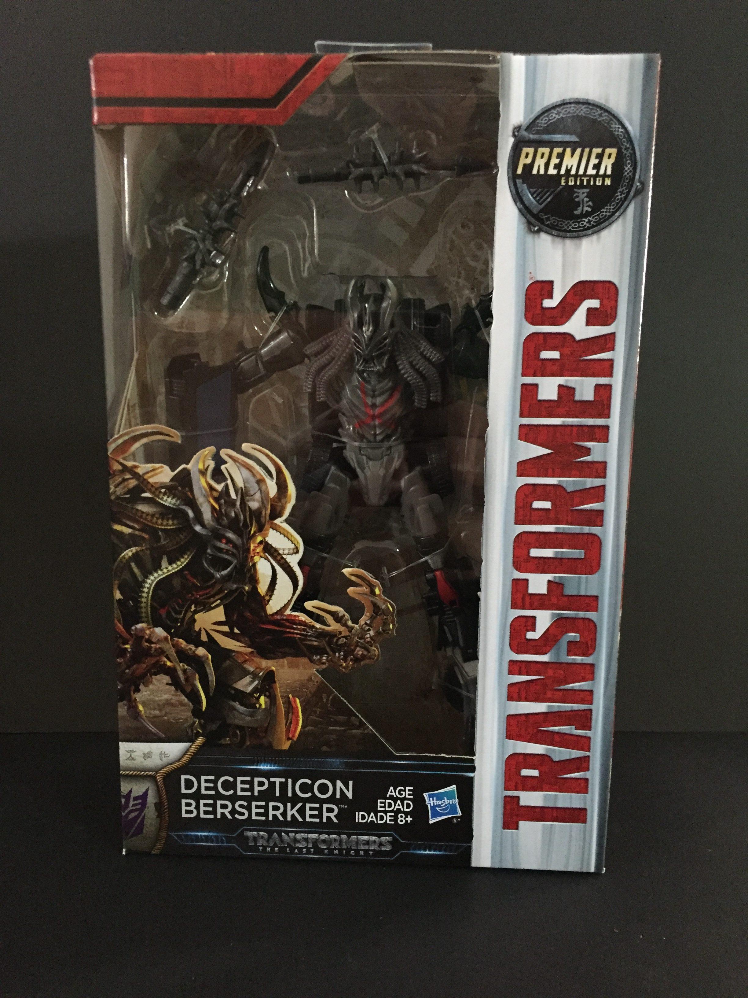 Berserker (Deluxe Class, Transformers: The Last Knight)