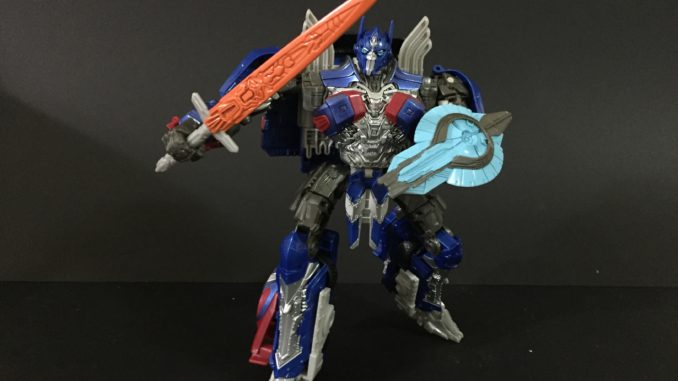 Optimus Prime. (Voyager Class, Transformers: The Last Knight)