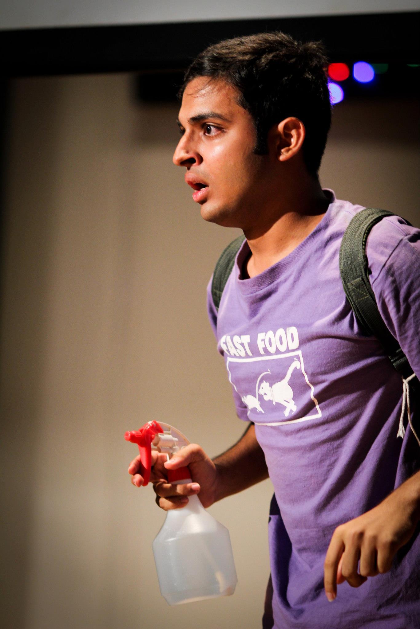 Shrey Bhargava. (Raffles Institution - JC: Orientation 2013 Facebook Page)