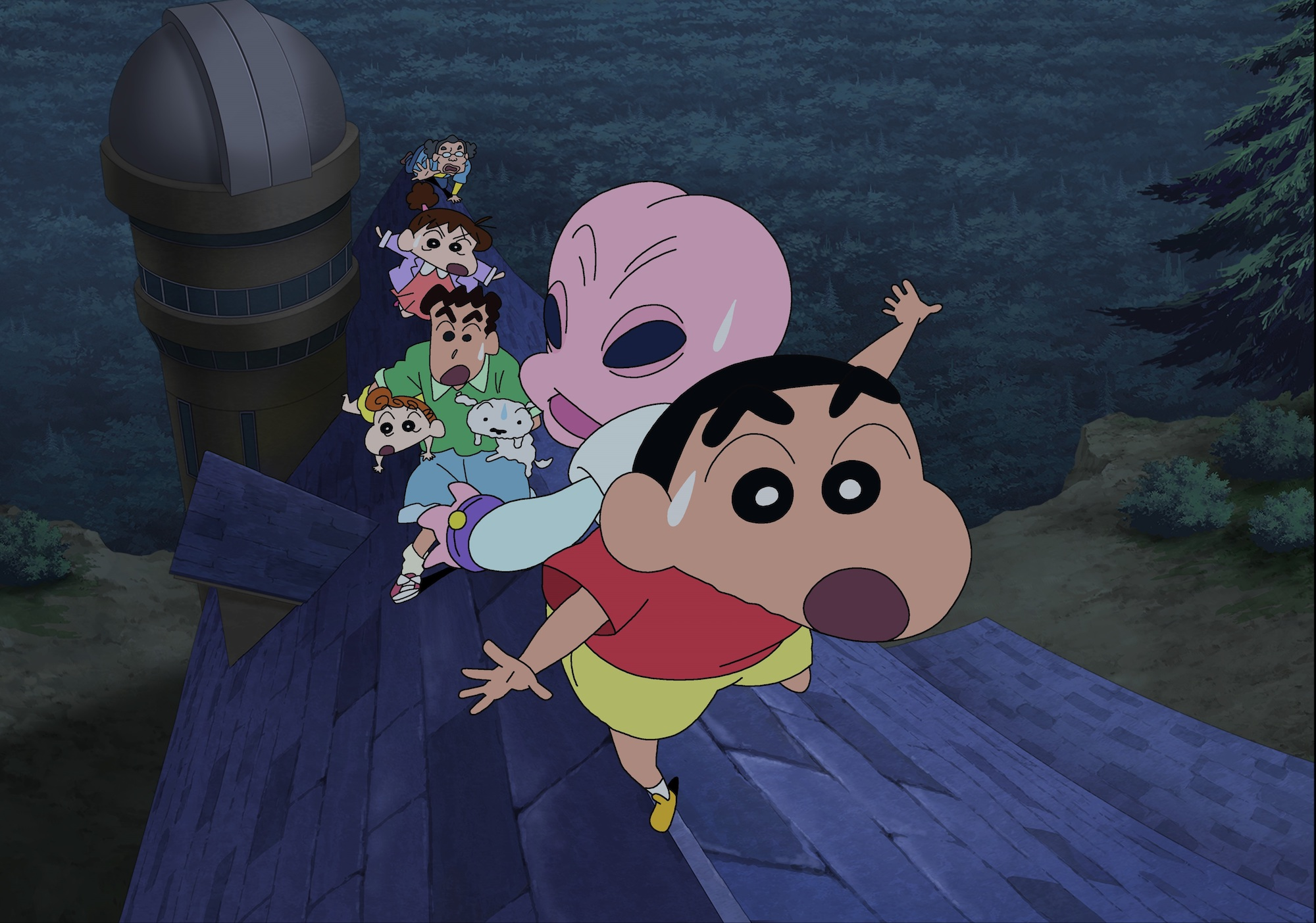 """Crayon Shin-chan: Invasion!! Alien Shiriri (クレヨンしんちゃん 襲来!!宇宙人シリリ)"". (Golden Village Cinemas)"