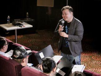 I was stammering. (Golden Village Cinemas)
