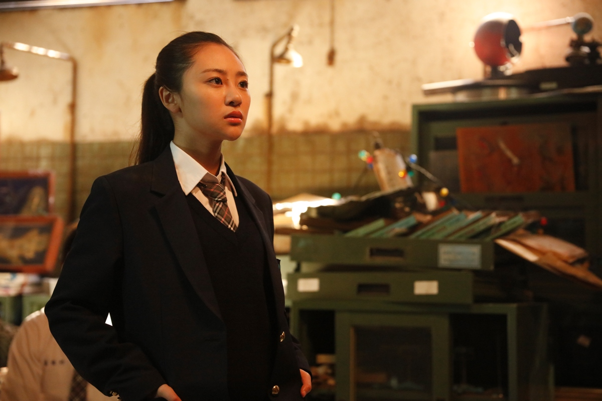 "Si-hua (Bonnie Liang Ru-xuan) in ""Mon Mon Mon Monsters (報告老師!怪怪怪怪物!)"". (Golden Village Pictures)"