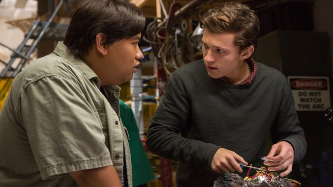 "Ned (Jacob Batalon) and Peter (Tom Holland) in ""Spider-Man: Homecoming"". (Sony Pictures Releasing)"