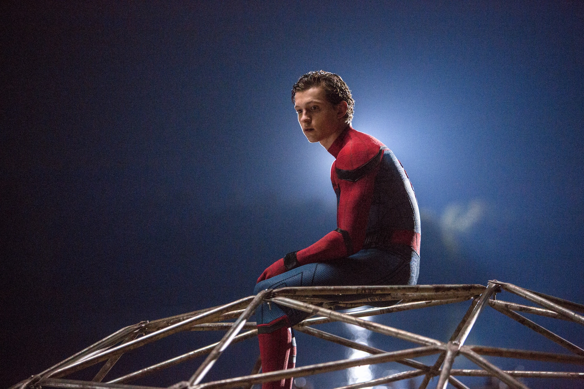 "Spider-Man (Tom Holland) in ""Spider-Man: Homecoming"". (Sony Pictures Releasing)"