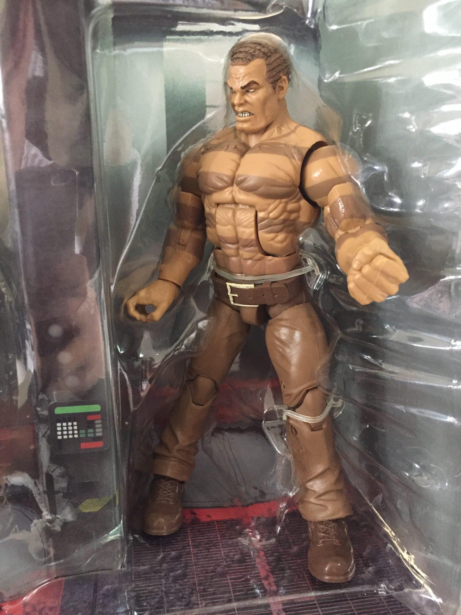 Sandman, Marvel Legends. (The Raft, SDCC 2016)