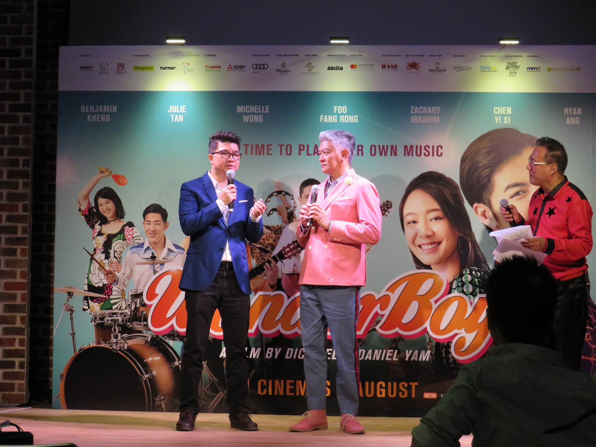 "Directors of ""Wonder Boy"", Daniel Yam and Dick Lee."