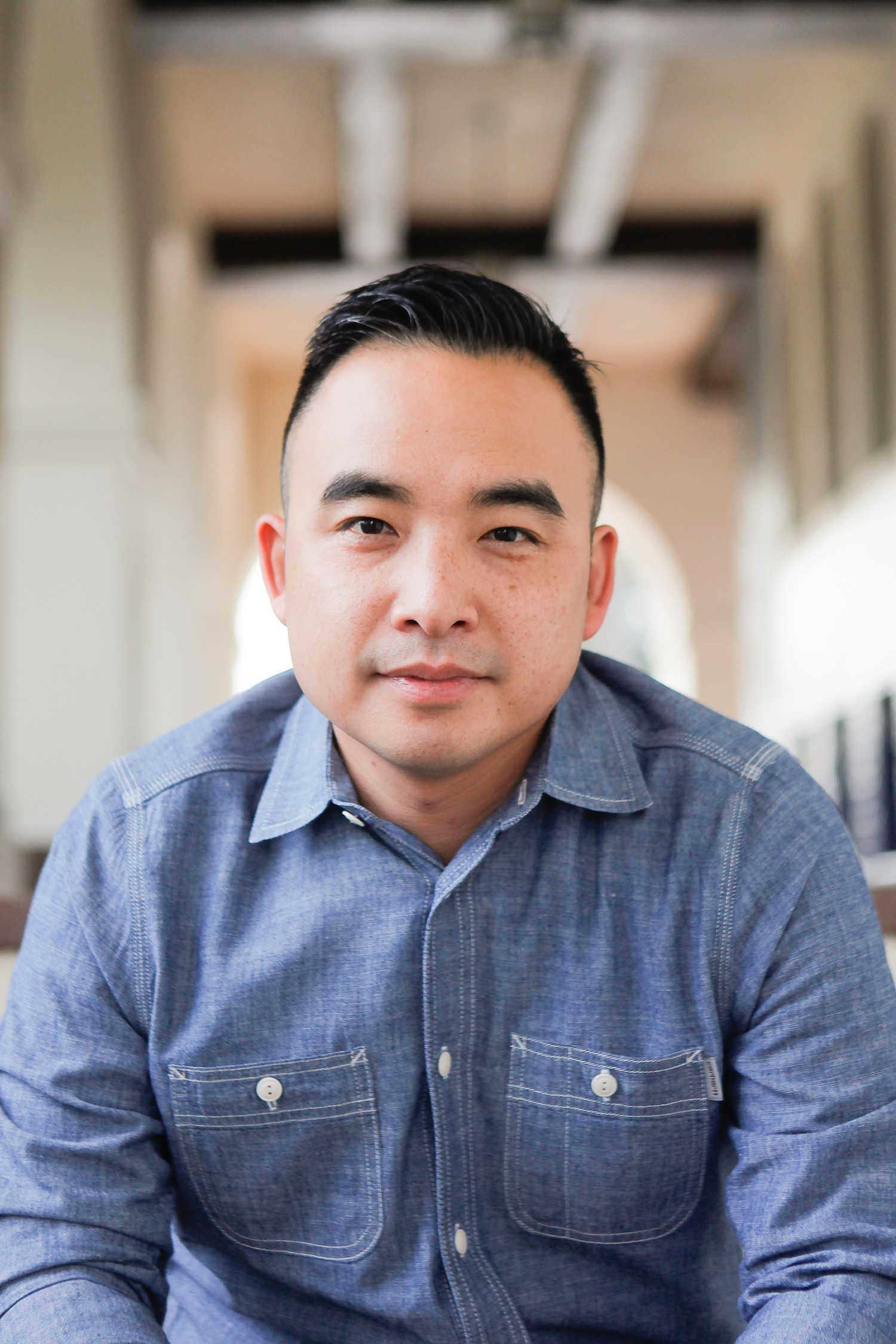 """Melvin Mar, executive producer for """"Fresh Off the Boat"""" (FOX+)"""
