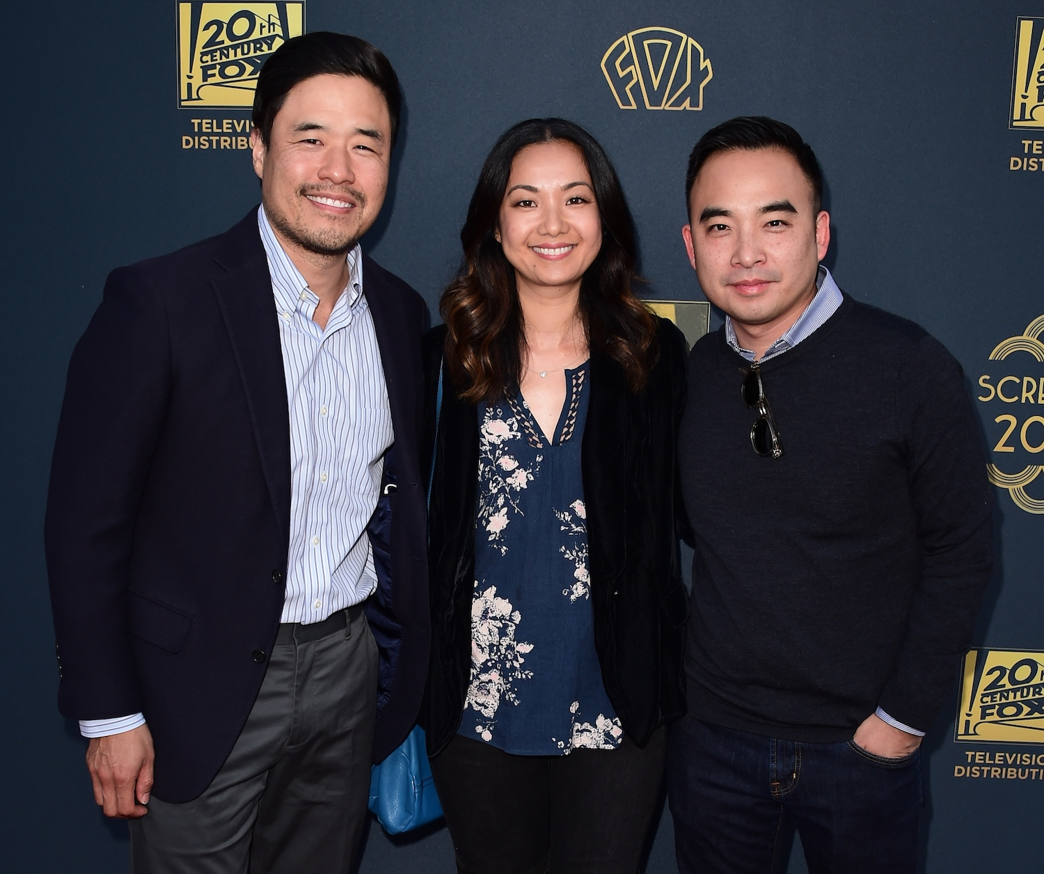 Randall Park, Jae W. Suh and Melvin Mar. (FOX+)