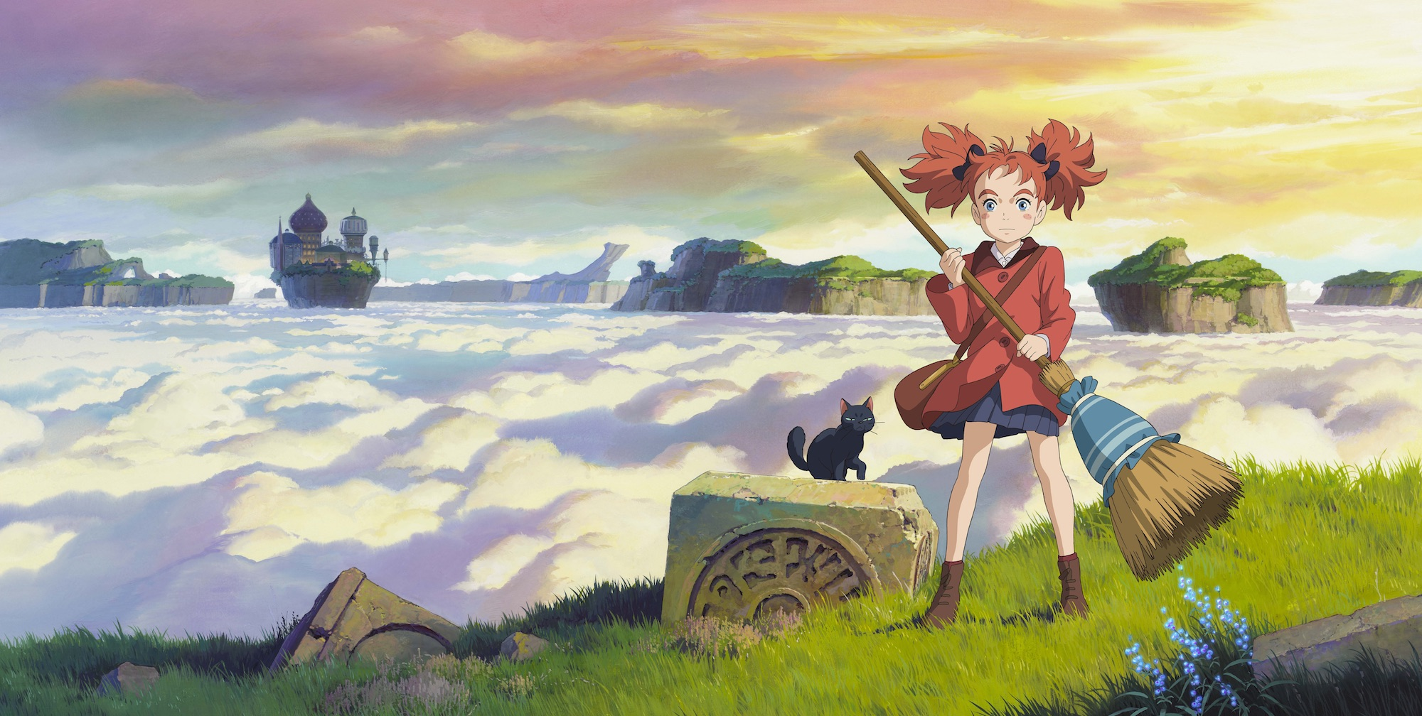 Mary and the Witch's Flower (Purple Plan)