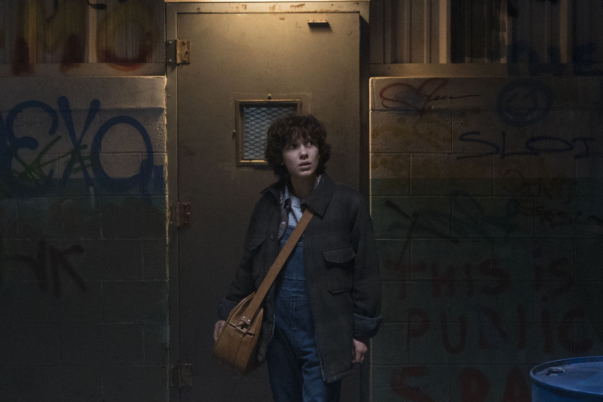 "Eleven in ""Stranger Things 2"". (Tina Rowden and Netflix)"