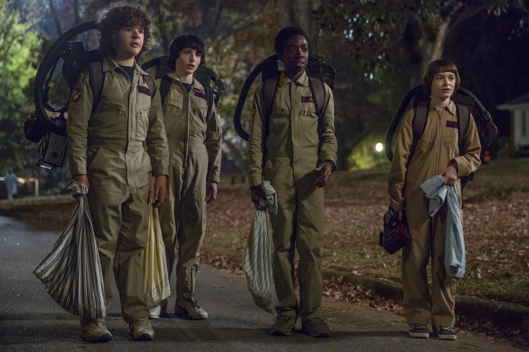 "Who you gonna call in ""Stranger Things 2""? (Netflix)"
