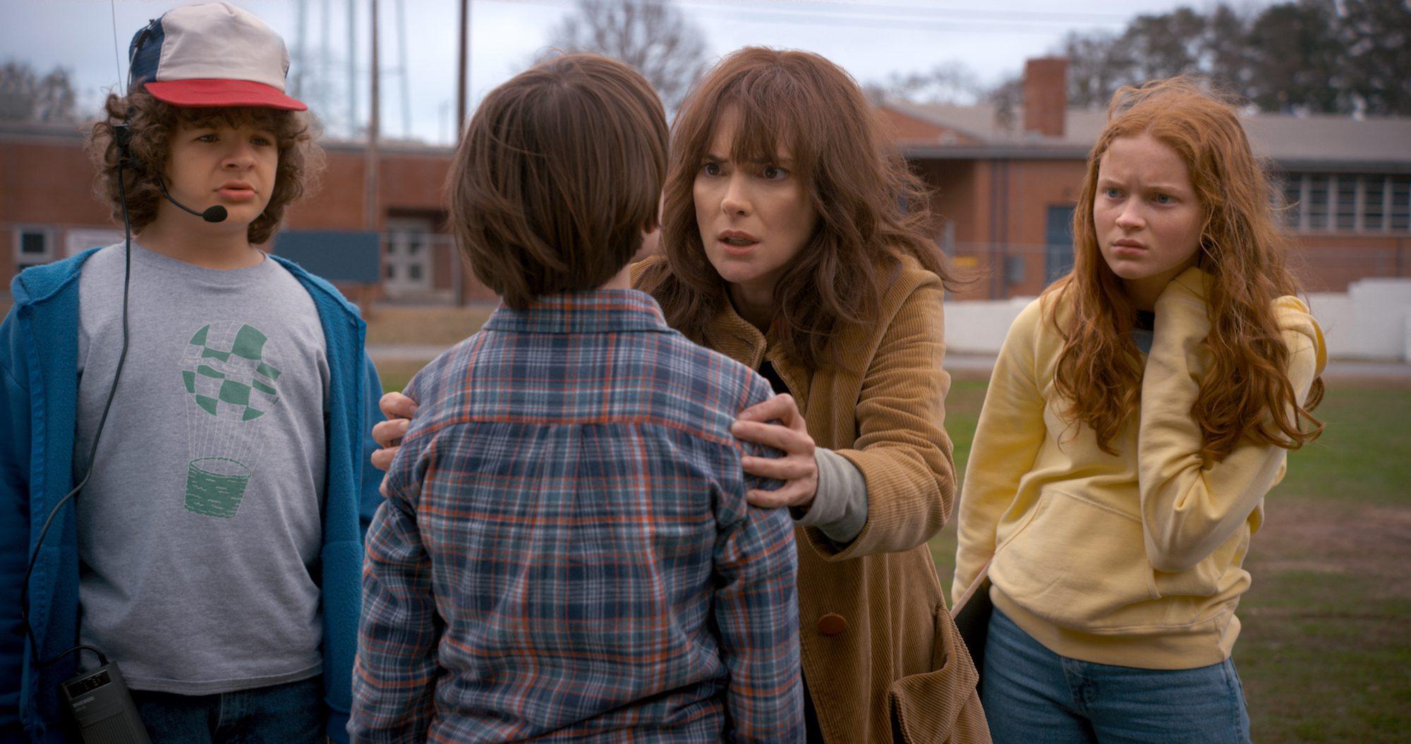 "Something's wrong in ""Stranger Things 2"". (Netflix)"