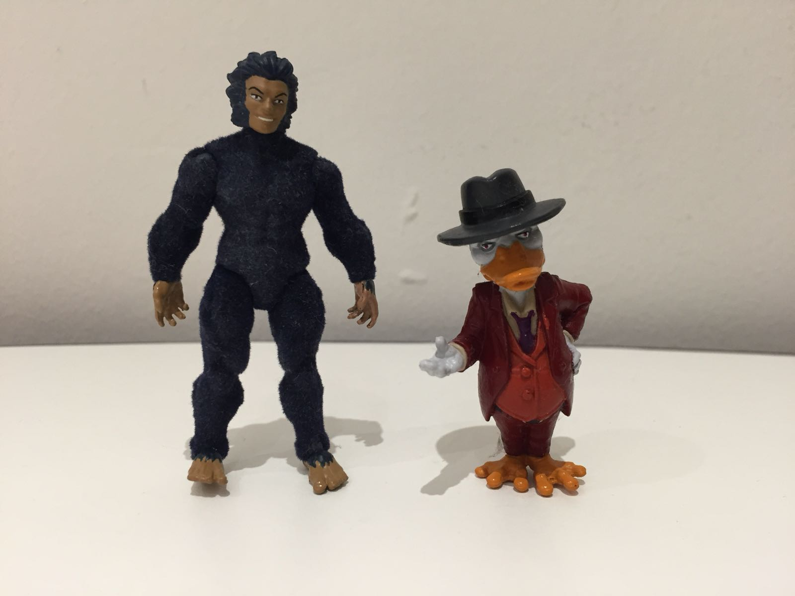 """Moonboy and Howard the Duck. (SDCC 2016's """"The Collector's Vault)"""