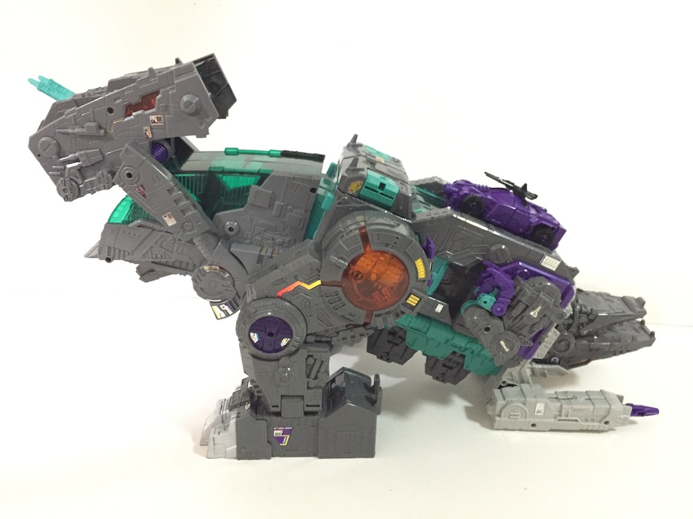 New Trypticon mode. (Trypticon from Transformers: Titans Return)