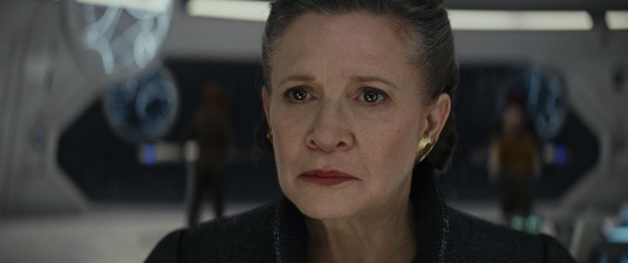 """General Leia (Carrie Fisher) in """"Star Wars: The Last Jedi"""" (Walt Disney Pictures)"""
