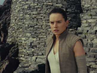 "Rey (Daisy Ridley) in ""Star Wars: The Last Jedi"" (Walt Disney Pictures)"