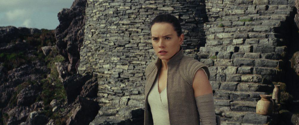 "Rey (Daisy Ridley) in ""Star Wars: The Last Jedi"" (Walt Disney Pictures)"