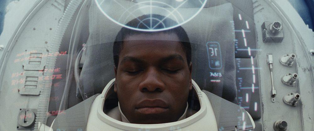 "Finn (John Boyega) in ""Star Wars: The Last Jedi"" (Walt Disney Pictures)"