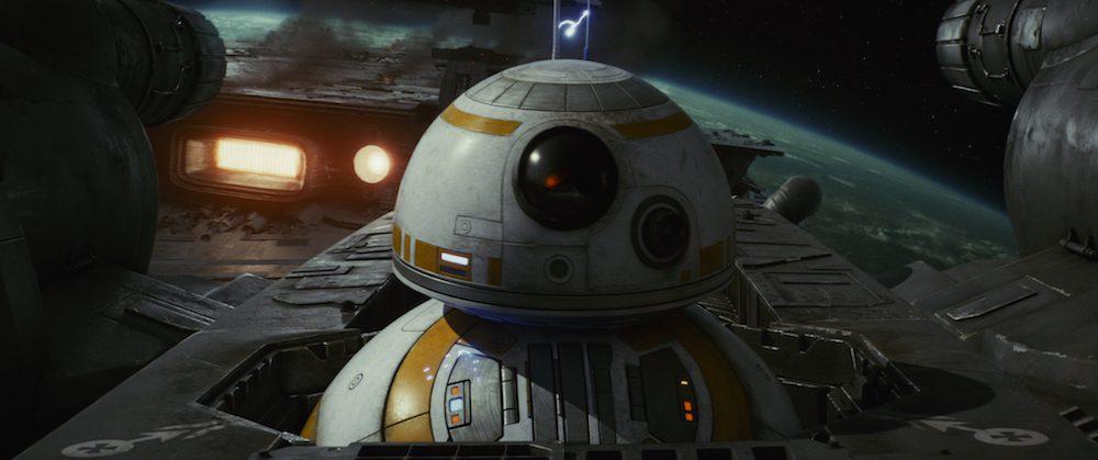 "BB-8 in ""Star Wars: The Last Jedi"" (Walt Disney Pictures)"