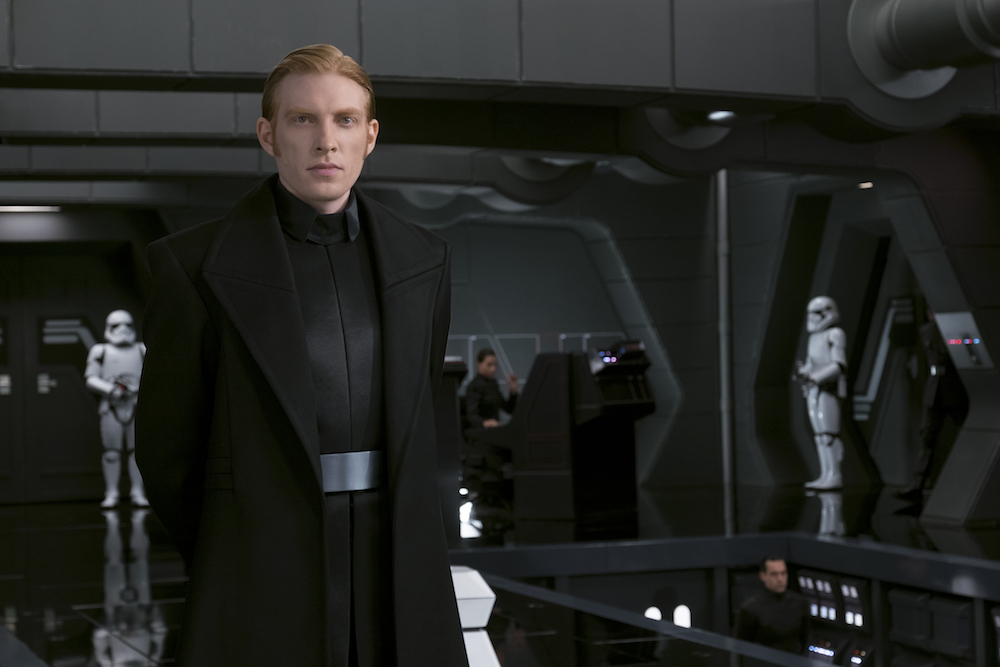 "General Hux (Domhnall Gleeson) in ""Star Wars: The Last Jedi"" (Walt Disney Pictures)"