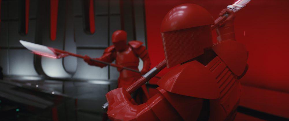 "Praetorian Guards in ""Star Wars: The Last Jedi"" (Walt Disney Pictures)"