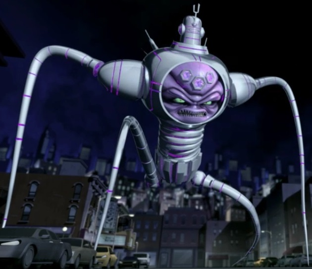 Wanted to see you one lat time, Kraang Prime. (Turtlepedia)