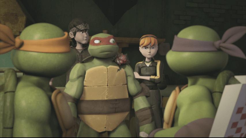 Past and present meet. (Turtlepedia)