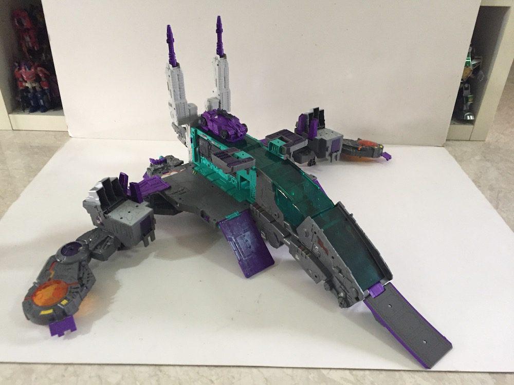 City mode.(Transformers: Titans Return's Trypticon)