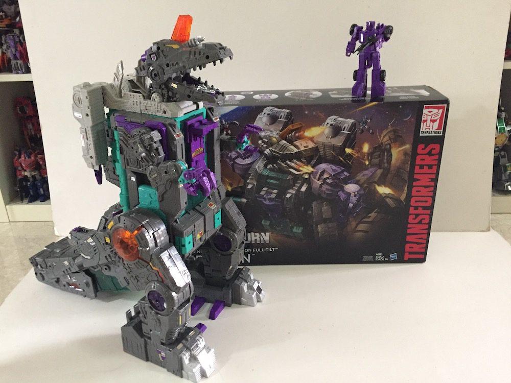 Trypticon. (Transformers: Titans Return's Trypticon)