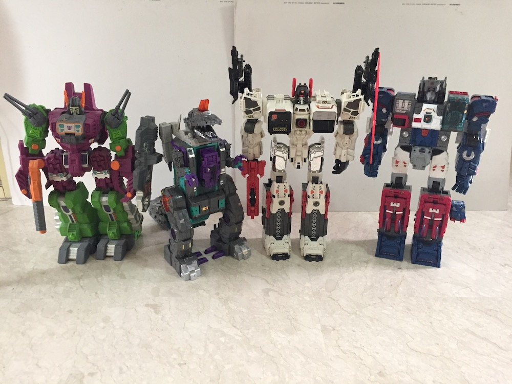 Titans together (Transformers: Titans Return's Trypticon)
