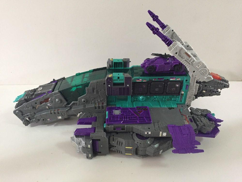 Nemesis mode. (Transformers: Titans Return's Trypticon)