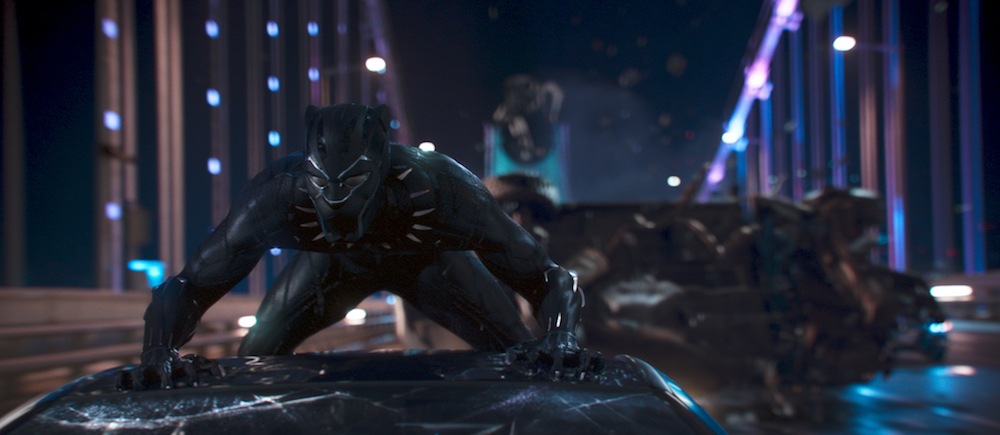 Black Panther. (Walt Disney Pictures)