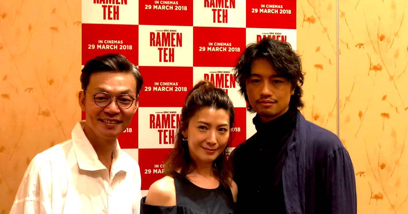 Mark Lee, Jeanette Aw, and Takumi Saito  - marcusgohmarcusgoh
