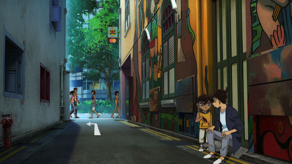 Movie Review] 'Detective Conan: The Fist of Blue Sapphire
